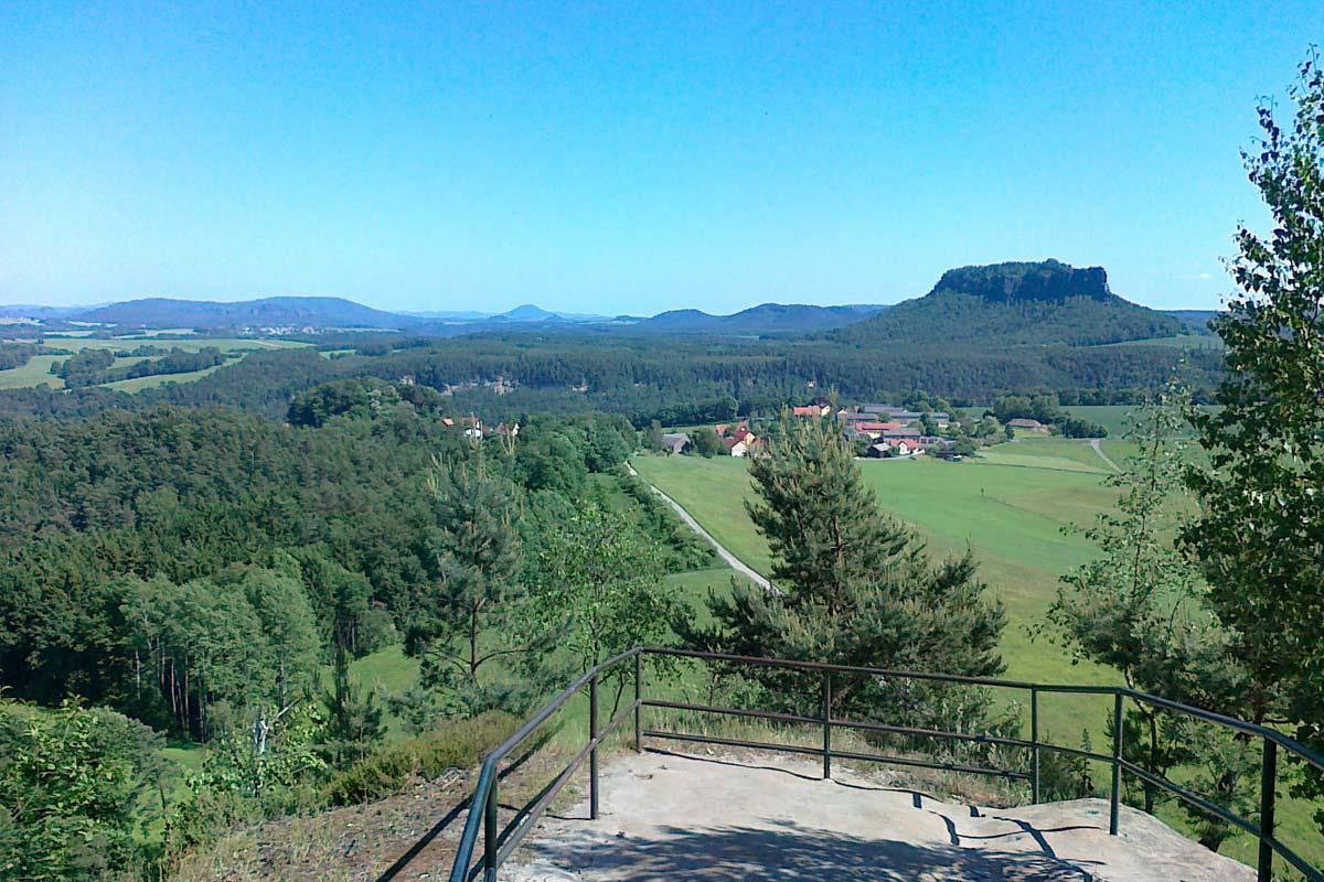 Ausblick vom Rauenstein