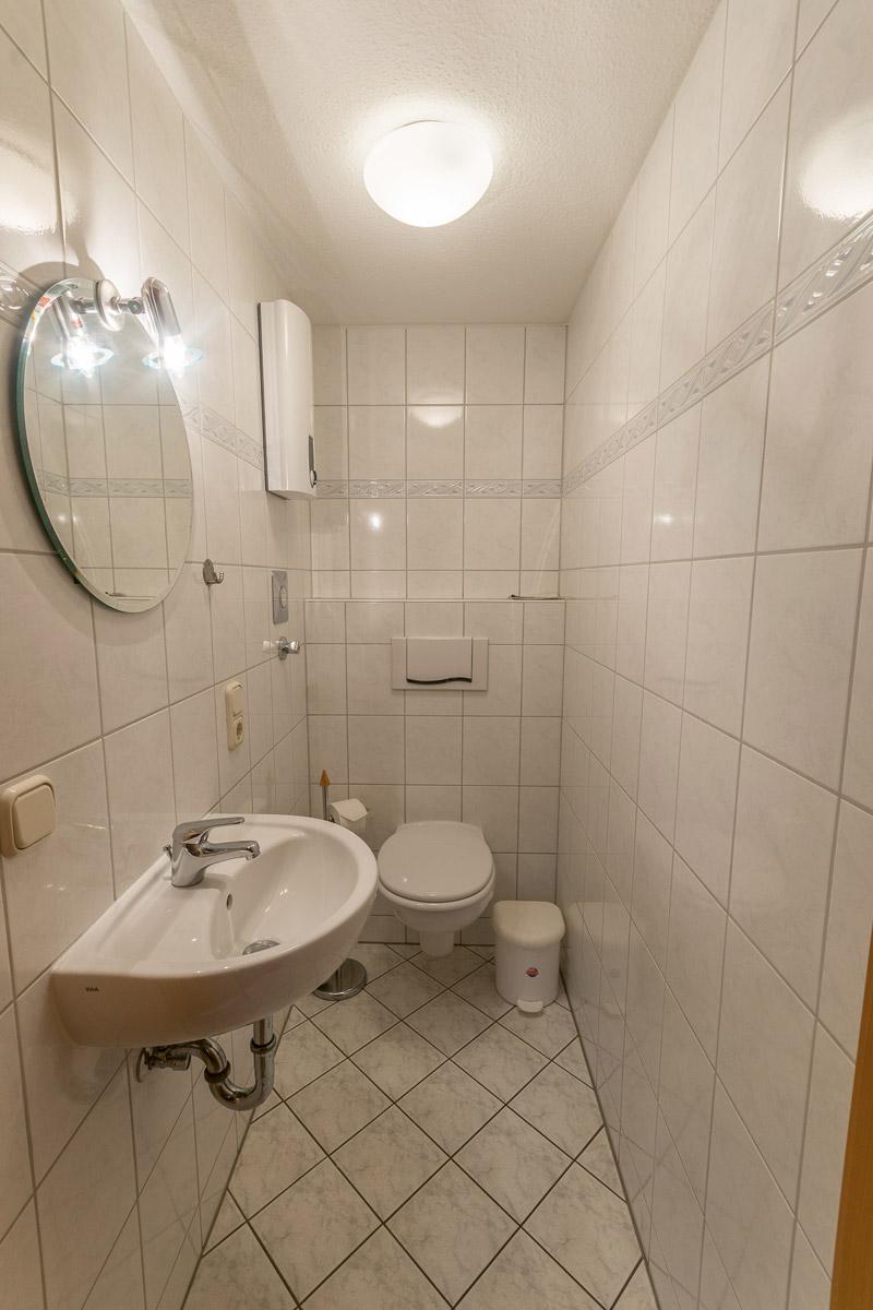 Ferienwohnung 1 im Erdgeschoss - separates WC